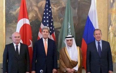 Κέρι: «Παραγωγική» η τετραμερής στη Βιέννη για τη Συρία