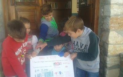 Τα παιδιά του Κεραμιδίου για του πρόσφυγες