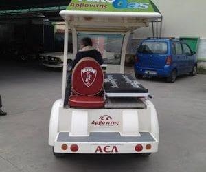 Πήρε αυτοκινητάκι η ΑΕΛ αντί των τραυματιοφορέων!