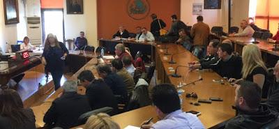 Αποχώρησαν από συνεδρίαση Δ.Σ.,  με αιχμές κατά Πατσιαντά, οι ανεξάρτητοι δημοτικοί σύμβουλοι