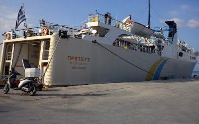 Χωρίς απόπλου το λιμάνι του Βόλου από την απεργία της ΠΝΟ