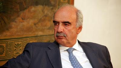 Παραιτήθηκε από μεταβατικός πρόεδρος της Ν.Δ. ο Β. Μεϊμαράκης