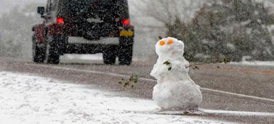 Έπεσε το πρώτο χιόνι στο Πήλιο