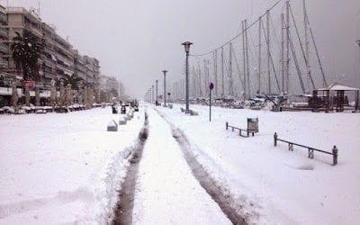 Έρχονται χιόνια και στο Βόλο;