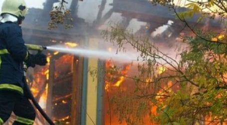 Ζημιές ύψους 15.000 ευρώ προκάλεσε φωτιά σε μονοκατοικία στην Αγριά