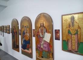 Εγκαινιάστηκε η Έκθεση Παλαιών Εικόνων του Μητροπολιτικού Ναού Αγ. Νικολάου