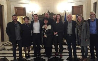 Οι βουλευτές Μαγνησίας του ΣΥΡΙΖΑ σε συνάντηση με τον Πρωθυπουργό