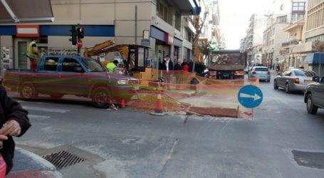 Διακοπή κυκλοφορίας στην Κ. Καρτάλη λόγω εργασιών