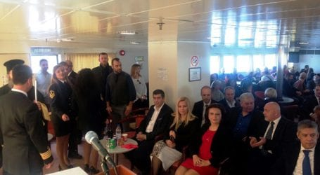 Επεισόδιο βουλευτών Ηλιόπουλου – Στεργίου στην εκδήλωση του λιμεναρχείου Βόλου