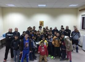 Η Πρωτοχρονιάτικη πίτα της Ποδοσφαιρικής Ακαδημίας του Αθλητικού συλλόγου «Δημητριάς»