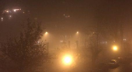 Πνίγηκε ο Βόλος στην αιθαλομίχλη (φωτό)