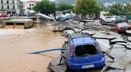Εκκρεμεί η οριοθέτηση της Σκοπέλου ως πλημμυρόπληκτη