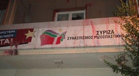 Τι απαντάει ο ΣΥΡΙΖΑ Μαγνησίας για την επίθεση στα γραφεία του στο Βόλο