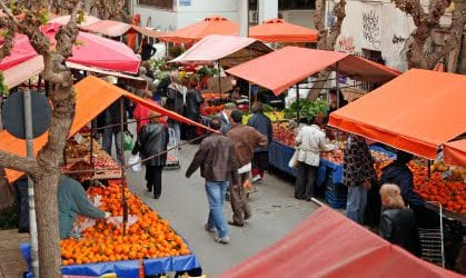 Αλλάζουν θέση οι λαϊκές αγορές σε Βόλο και Νέα Ιωνία