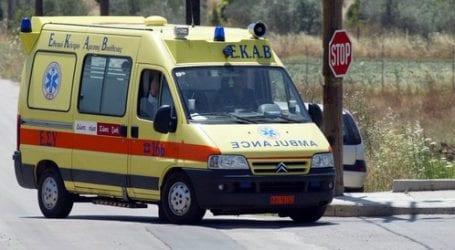 57χρονος τραυματίστηκε με τσεκούρι στο Βόλο