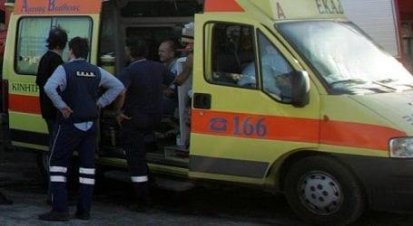 Τροχαίο με δύο τραυματίες στην οδό Γρ. Λαμπράκη στο Βόλο