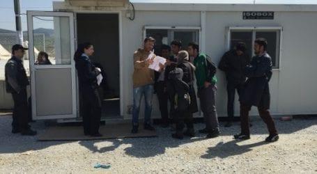 Αναχώρησαν πεζή για Ειδομένη 65 από τους πρόσφυγες που έφθασαν στον ΣΕΑ Αερινού