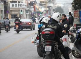 Η Τροχαία οργώνει τους δρόμους του Βόλου