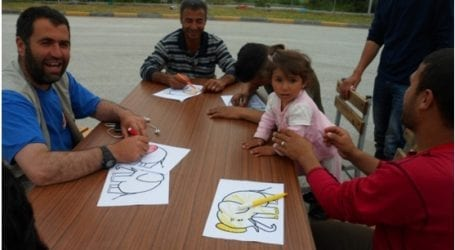 Γυναίκες του Δημοκρατικού Συλλόγου έπαιξαν με τα προσφυγόπουλα στον ΜΟΖΑ