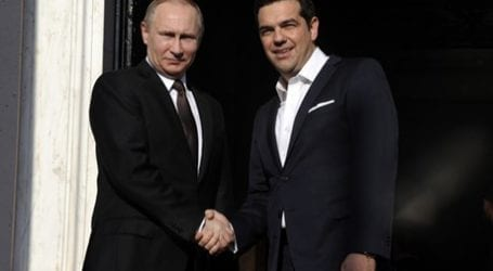Στην Αθήνα ο Βλαντιμίρ Πούτιν – Συνεχής ενημέρωση