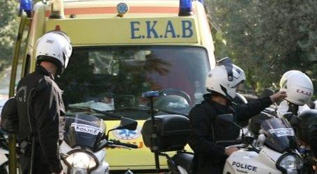 Μητέρα και παιδί τραυματίστηκαν σε τροχαίο στον Βόλο
