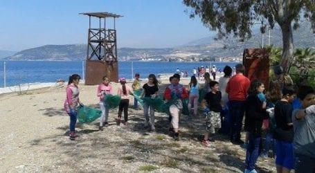 Εθελοντική προσπάθεια καθαρισμού των ακτών από μαθητές