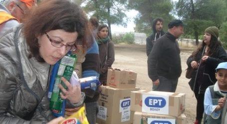 Γέφυρα αλληλεγγύης για τους πρόσφυγες των Θερμοπυλών