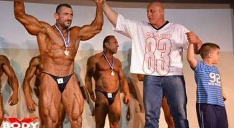 Ο Τριαντάφυλλος Μαραγγός από τον Βόλο πρωταθλητής στο Μεοσγειακό πρωτάθλημα fitness