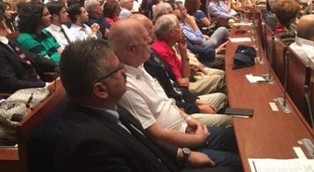 Ο Μ. Μιτζικός στην εκδήλωση του Ινστιτούτου Δημοκρατίας «Κωνσταντίνος Καραμανλής»