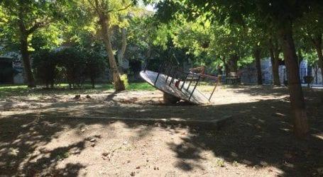 Επικίνδυνο πάρκο για εκατοντάδες παιδιά στον Βόλο