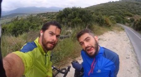 Από την Πάτρα στο Πήλιο με… ποδήλατο! (βίντεο)