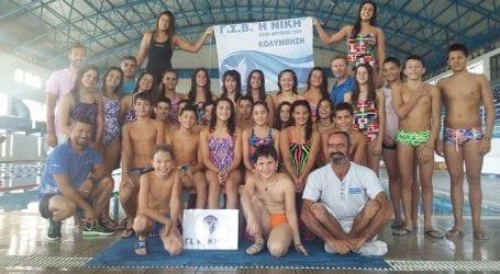 Επιτυχίες για τη Νίκη Βόλου στην κολύμβηση