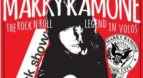 O Marky Ramone για πρώτη φορά στο Βόλο!