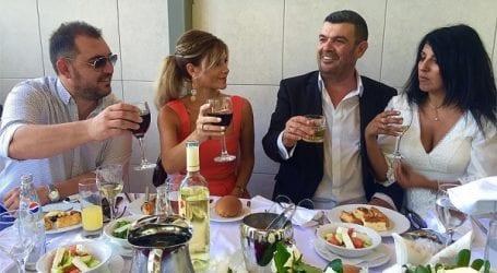 Παντρεύτηκε ο αθλητικογράφος Ντίνος Εξαρχάκης (φωτό)