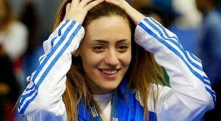 Χρυσή ολυμπιονίκης η Κορακάκη