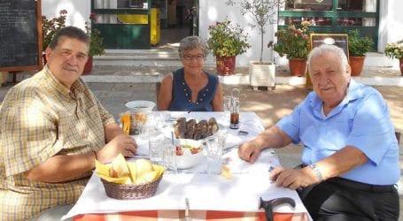 Γεύμα προς τιμήν του Χαρ. Τσιμά από το Ινστιτούτο Ανάπτυξης Πηλίου