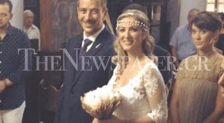 Παντρεύτηκε ο αρχιτέκτων Τάσος Σαλίων (φωτό)