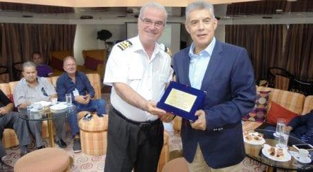 Συνεργασία για ανάπτυξη της κρουαζιέρας στο λιμάνι του Βόλου