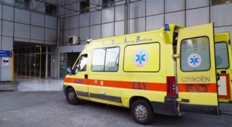 Τροχαίο με τραυματία 30χρονο στο Διμήνι