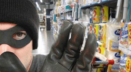 Μερακλής κλέφτης αφαίρεσε ουίσκι από σούπερ μάρκετ