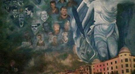 Ο Αλέκος Μωραϊτίδης φιλοτέχνησε πίνακα για τη Νίκη Βόλου