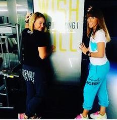 Δείτε την διατροφολόγο Τόνια Καραγιάννη στο γυμναστήριο