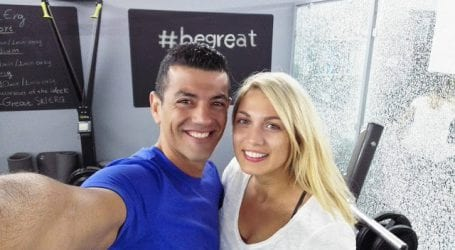 Δείτε φωτογραφίες από την Κωνσταντίνα Σπυροπούλου σε γυμναστήριο του Βόλου