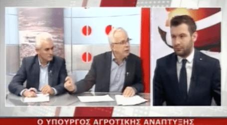 Υπουργός Αποστόλου στον ASTRA: Θα πάρουμε πίσω τον φόρο σε κρασί και τσίπουρο (βίντεο)