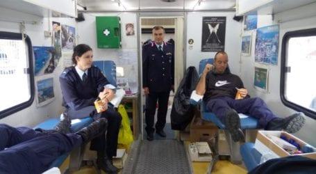 Αίμα για τα παιδιά με Μεσογειακή Αναιμία έδωσαν οι αστυνομικοί