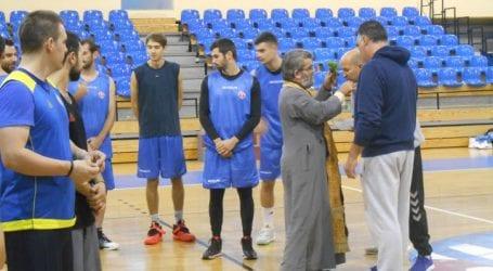 Αγιασμός στο τμήμα μπάσκετ του Γ.Σ.Β. «Η ΝΙΚΗ»