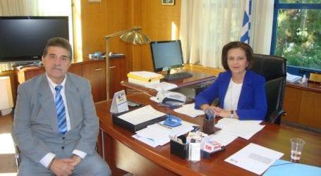 Το γραφείο της Μαρίνας στο Υπουργείο