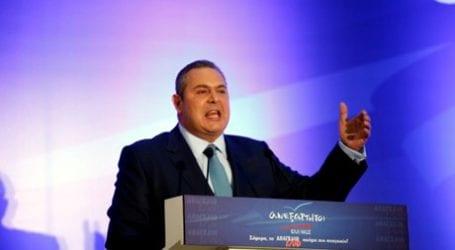 Επανεξελέγη πρόεδρος των Ανεξάρτητων Ελλήνων ο Πάνος Καμμένος