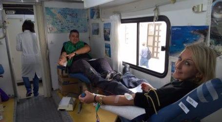 Εθελοντική αιμοδοσία από το προσωπικό της Π.Υ. Βόλου