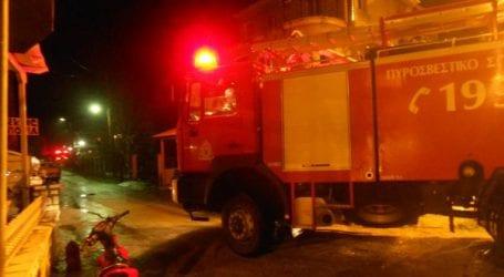 Φωτιά σε σπίτι στο Φυτόκο